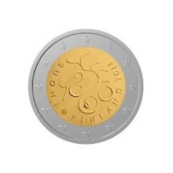 """2 Euro herdenkingsmunt Finland 2013 """"150 jaar Fins parlement 1863"""" (UNC)"""
