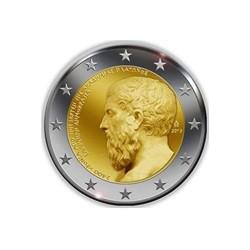 """2 Euro herdenkingsmunt Griekenland 2013 """"400e verjaardag academie van Plato"""" (UNC)"""