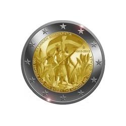 """2 Euro herdenkingsmunt Griekenland 2013 """"100e verjaardag Unie van Kreta"""" (UNC)"""