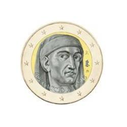 """2 Euro herdenkingsmunt Italië 2013 """"700e verjaardag Giovanni Boccaccio"""" (UNC)"""