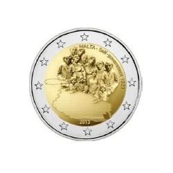 """2 Euro herdenkingsmunt Malta 2013 """"zelfbestuur 1921"""" (UNC)"""