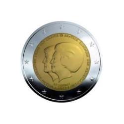"""2 Euro herdenkingsmunt Nederland 2013 """"Troonopvolging Beatrix en Willem alexander"""" (UNC)"""