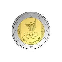 """2 Euro herdenkingsmunt België 2016 """"Olympische spelen RIO"""" (in coincard)"""