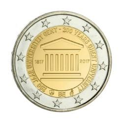 """2 Euro herdenkingsmunt België 2017 """"Universiteit van Gent"""" (in coincard, bestaat niet in rol)"""