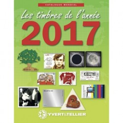 Yvert & Tellier nieuwigheden wereld postzegelcatalogus 2017
