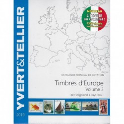 Yvert & Tellier catalogue des timbres d'Europa volume 3 (Ingrie/Pays-Bas) (tome Europa 3)