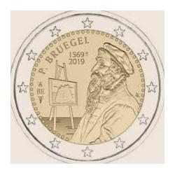 "2 Euro herdenkingsmunt België 2019 ""Pieter Bruegel"" Nederlandstalig (coincard)"