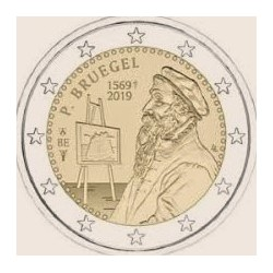 "2 Euro herdenkingsmunt België 2019 ""Pieter Bruegel"" Franstalig (coincard)"