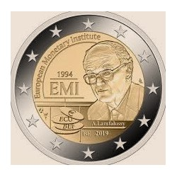 "2 Euro herdenkingsmunt België 2019 ""EMI"" Franstalig (coincard)"