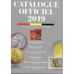 Officiële catalogus der Belgische munten Morin editie 2019 franstalig