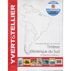 Yvert & Tellier postzegelcatalogus overzee Zuid-Amerika (Argentine-Venezuela)