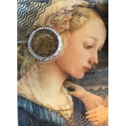 """2 Euro herdenkingsmunt San-Marino 2019 """"Filippo Lippi"""" (FDC in blister)"""