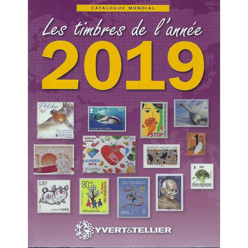 Yvert & Tellier nieuwigheden wereld postzegelcatalogus 2019