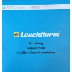 Leuchtturm supplement postzegelbladen België 2019