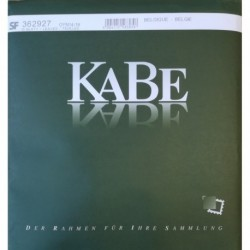 Kabe supplement postzegelbladen België 2019