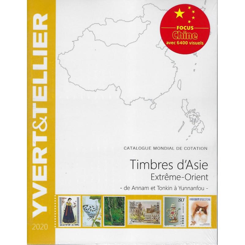Yvert & Tellier postzegelcatalogus overzee extreem Oosten (Annam/Tonkin-Yunnanfou)