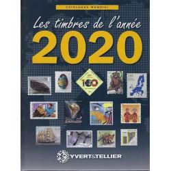 Yvert & Tellier nieuwigheden wereld postzegelcatalogus 2020