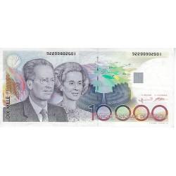 Bankbiljet België 10000 frank Bouwdewijn & Fabiola (1992-1998)