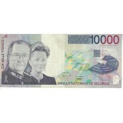 Bankbiljet België 10000 frank Albert & Paola