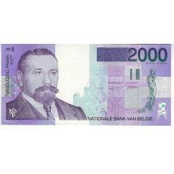 Bankbiljet België 2000 frank Victor Horta