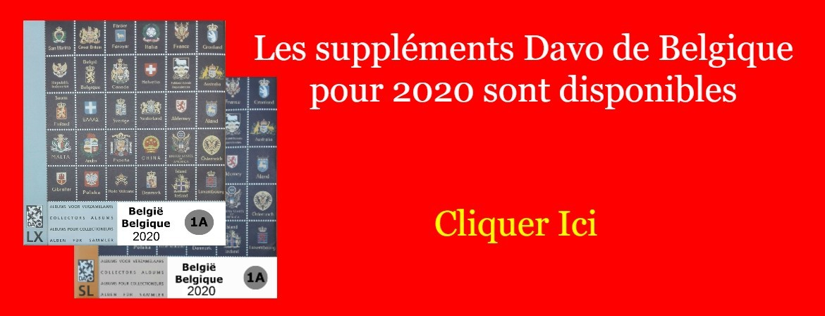 supplements Davo Belgique 2020
