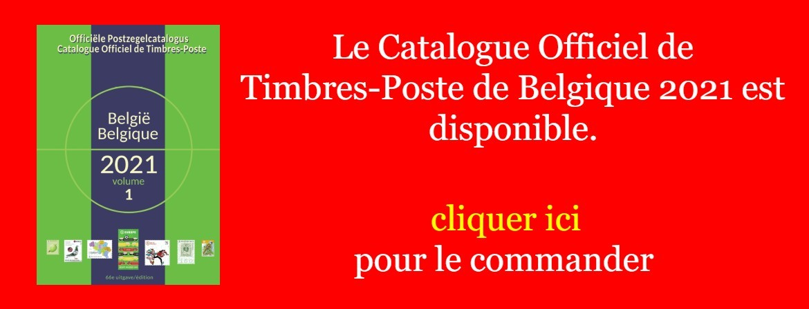 catalogue officiel belgique 2021 OCB COB OPB